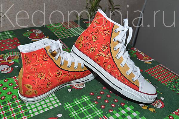 Обувь в русском стиле