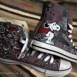 Кеды со Snoopy dog