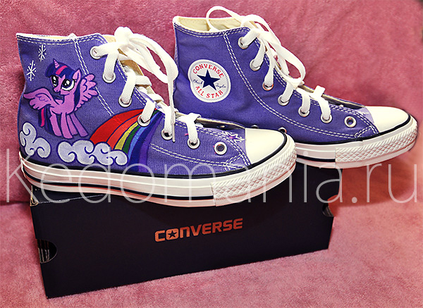 Кеды Converse All Star «MY LITTLE PONY»